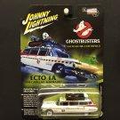 """Johnny Lightning """"Silver Screen"""" Edition Ghostbusters ECTO 1A 1959 Cadllac Eldorado"""