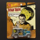 Hot Wheels Star Trek CAPTAIN KIRK '49 Ford COE Real Riders Metal