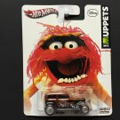 Hot Wheels Disney's Muppets ANIMAL - MIDNIGHT OTTO Real Riders Metal