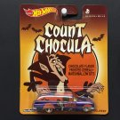 Hot Wheels GENERAL MILLS Count Chocula '59 Chevy Delivery Real Riders Metal