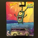 Hot Wheels Nickelodeon PLANKTON Dairy Delivery - Real Riders Metal