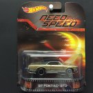 Hot Wheels Retro Entertainment Need For Speed '67 Pontiac GTO