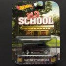 Hot Wheels Retro Entertainment Old School Custom '77 Dodge Van