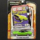 "Greenlight Entertainment ""HOT ROD"" 1970 Dodge Challenger - GREEN"
