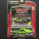 """Greenlight Entertainment """"Mecum Auction Block"""" 1970 Dodge Challenger T/A - GREEN"""