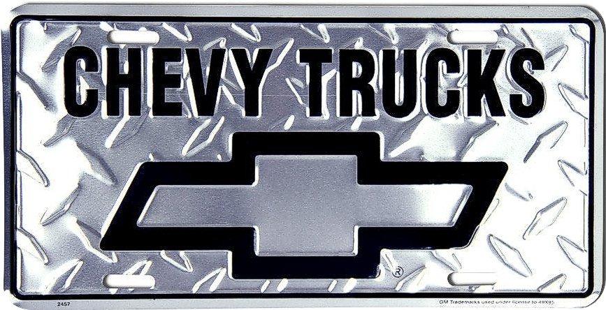 Chevy Trucks License Plate