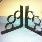 """1 pair of Semi flat black industrial iron shelf brackets 10"""" x 10"""""""
