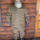 nuclear war hazmat radiation suit size L NBC biochemical CBRN suit boots gloves