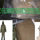 Radiation CBRN suit boots gloves Mask XXL Nuclear Bio Chemical fallout nbc full