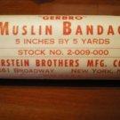 WW2 US army Muslin Bandage very very nice condition ww2 field bandage sealed