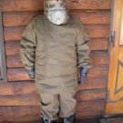 nuclear war hazmat suit fits size L - XL NBC bio chemical tear gas CBRN Fallout