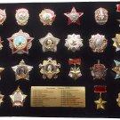 22 USSR ORDERS Soviet FULL Set