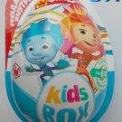 9x Fiksiki Fixiki Kinder JOY Surprise Eggs Ferrero Chocolate Toys