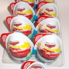 9x  Kinder JOY Surprise Eggs Ferrero Chocolate Toys Cars