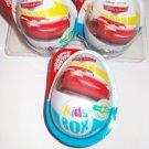9x  Kinder JOY Surprise Eggs Ferrero Chocolate Toys Cars