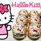 9x Hello Kitty Toy chocolate balls Chupa Chups Kinder Surprise