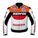 Honda Repsol Motorcycle Leather Jacket