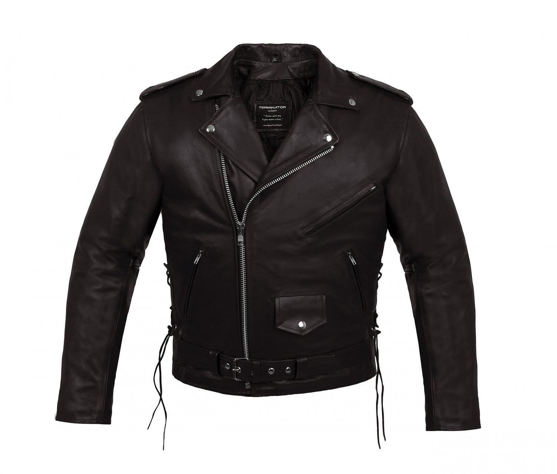 Terminator Motorcycle Leather Jacket