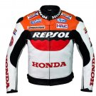 Honda Repsol Team Racing Leather Jacket (without a hump)