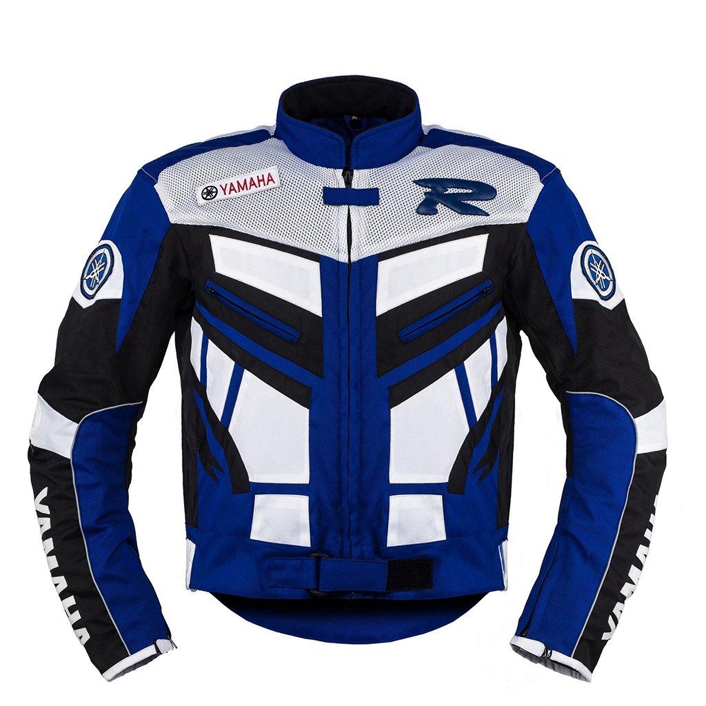 Yamaha Blue Motorcycle Racing Textile Jacket