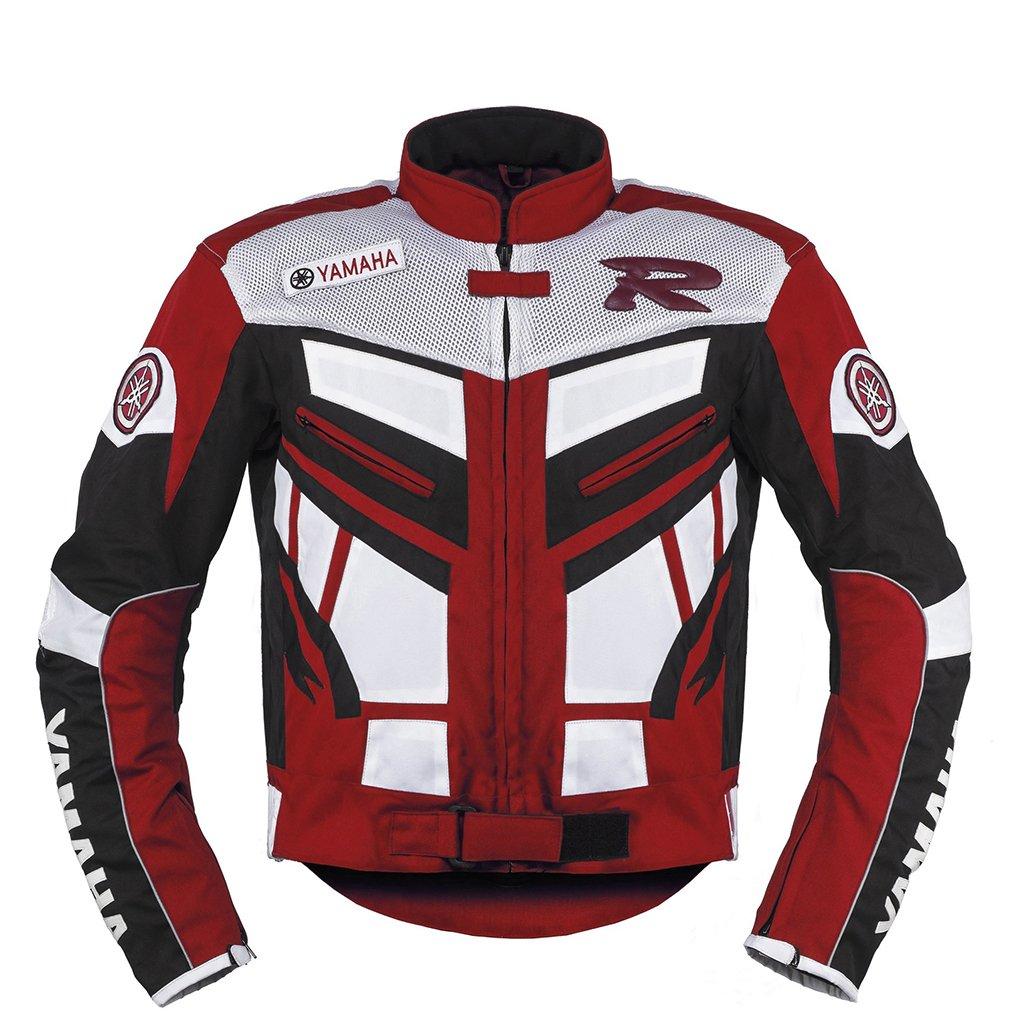 Yamaha Red Racing Motorcycle Textile Jacket