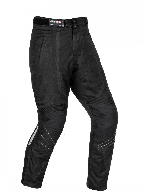 Corelli MG Storm Black Motorcycle Textile Pants