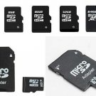 Memory Card mini Transflash Adapter+Micro SD Card 16gb