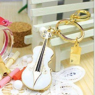 crystal violin 8 GB white Pen Drive USB Flash Drive Pen PC Free Shipping