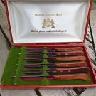 Buck Cased Sheffield Stainless Steel Steak Knife Made in England