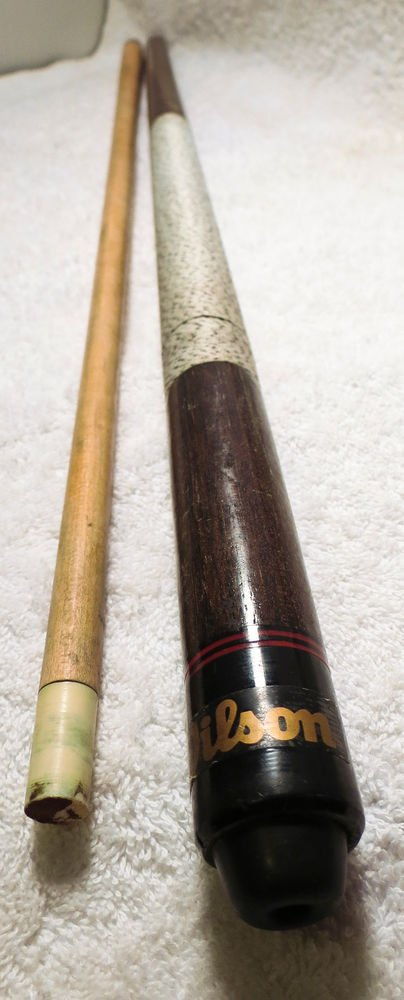 "Vintage Wilson Portable Pool Cue Stick - 5/8"" 17oz Two Piece"