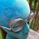 Vtg Bausch & Lomb  Safety Glasses Mesh Corner Shields Eyeglasses Steampunk
