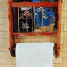 Bathroom Butler Wall Mount 30-446, Brown Wood House of LLoyd Inc.