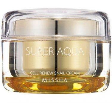 Missha Super Aqua Cell Renew Snail Cream - 47ml