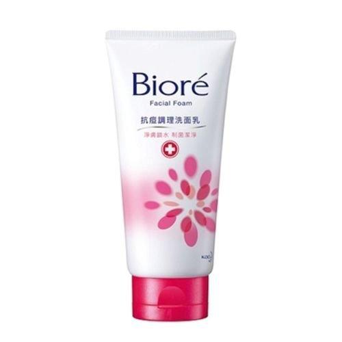 Biore Facial Face Foam Wash PURE ACNE Skin Care 100g