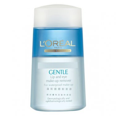 L'Oreal Dermo-Expertise Gentle Lip and Eye Make-Up Remover 125m