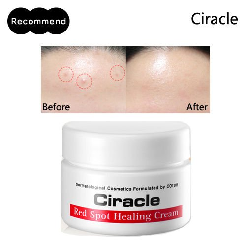 Ciracle Red Spot Healing Cream 30ml Trouble Skin Pimple Acne Anti-blemish
