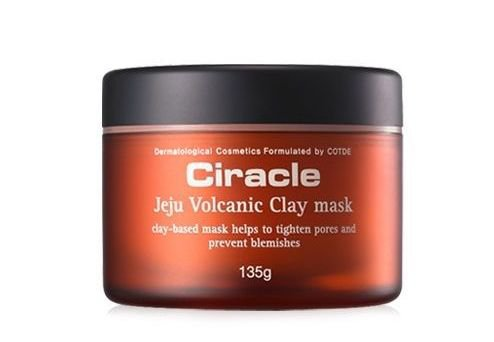 Ciracle Jeju Volcanic Clay Mask 135g Blackhead Pores Sebum