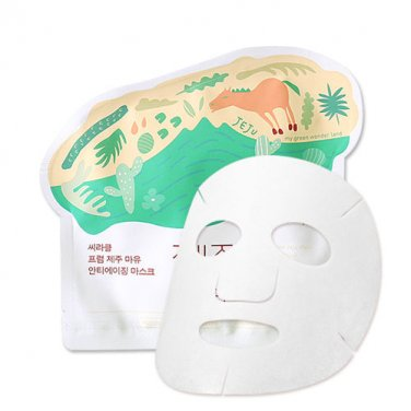 Ciracle Jeju Mayu Anti-aging Mask 21g x 10PCS