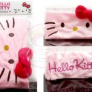 Sanrio Hello Kitty Cosmetic Make up Wash Face SPA Elastic Cotton Shower Cap Head band