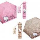 Sanrio Hello Kitty Folding Umbrella Pink