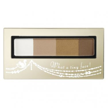 Shiseido INTEGRATE Eyebrow and Nose Shadow Powder 4 Shades Palette -BR731 Light Brown