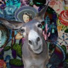 Mexican Donkey Painting
