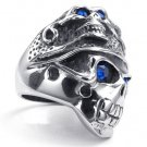 titanium rings for men SKULL rings fashion jewelry COOL special gift