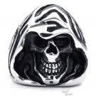 titanium rings for men  skull cool Finger Rings wizard style