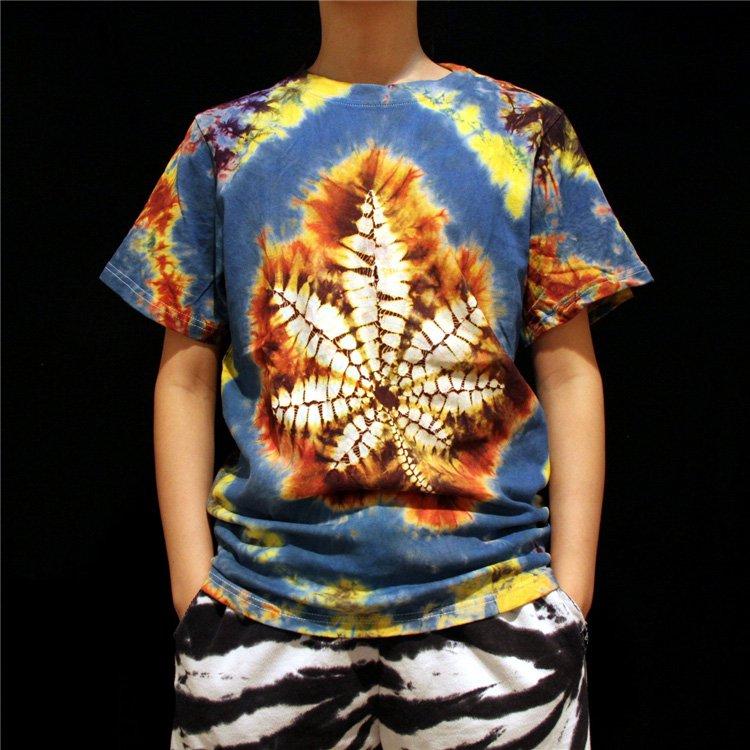 unique Men tie dye shirts tie dyeing tie dye designs  leaf professional Handmade