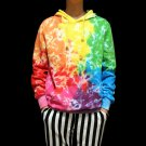 professional Handmade unique Tie Dye‎ couple cool hoodie men women long sweatshirts