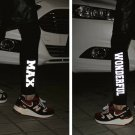 3M reflective fashion mens sports leggings jogger pants hiphop Inner wear