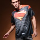 Men 3D print Superman's  Logo sport cool tshirt New Personalized  t shirts