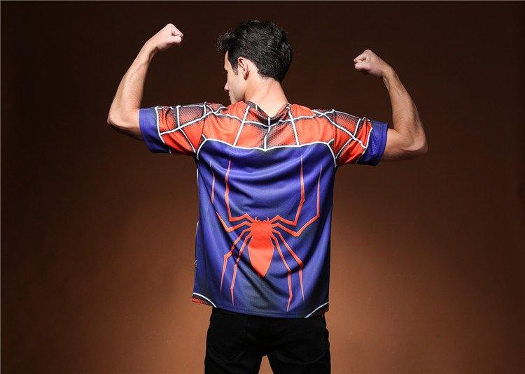 Men 3D print Spider-Man Logo Cool T-Shirts cool tshirt New Personalized t shirts
