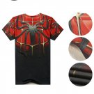 Men 3D print Spider-Man Logo Cool T-Shirts cotton tshirt New Personalized t shirts